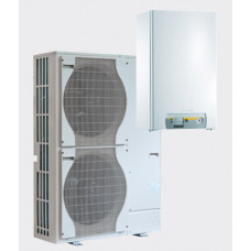 Тепловой насос ALEZIO Evolution AWHP 11 MR-3/EM воздух-вода 11,39 кВт для отопления и охлаждения, c нагревательным элементом, однофазный