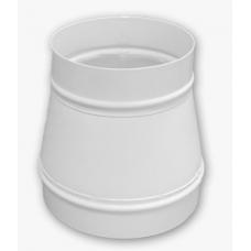 Переходник воздуховода газовых колонок с диаметра 130 мм на 110 мм