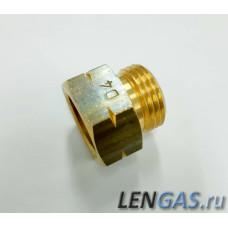 """Штуцер D4 IG KLF х AG W21,8x1/14""""LH (G.2, G.8)"""