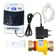САКЗ-МК-1-1А Система контроля загазованности CH4 (природный газ) с клапаном - САКЗ-МК-1-1А DN20