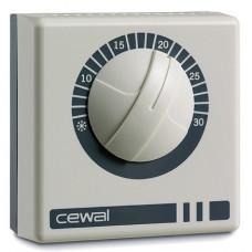 Термостат механический комнатный CEWAL RQ10 (Италия)