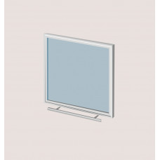 Дверца Robax17 с жаростойким стеклом