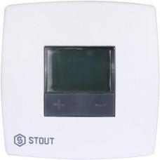*STE-0001-000002 STOUT Термостат комнатный электронный BELUX DIGITAL