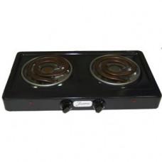 Настольная электрическая плита Злата 214Т (черная)