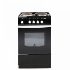 Электрическая плита De Luxe 5004.12э (черная) (без щитка и крышки)
