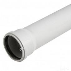 Труба для бесшумной канализации из ПП 110*3,4*250 мм, Политэк (35)