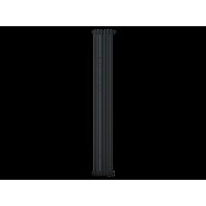 Радиатор труб. Zehnder Charleston 2180, 06 сек.1/2 бок.подк. RAL9017matt (9217) (кроншт.в компл)