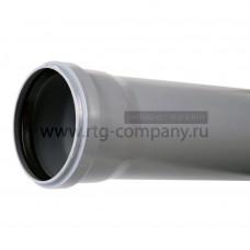 Труба для бесшумной канализации из ПП 110*3,4*1000 мм, Политэк (5)