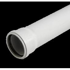 Труба для бесшумной канализации из ПП 50*1,8*2000 мм, Политэк (10)