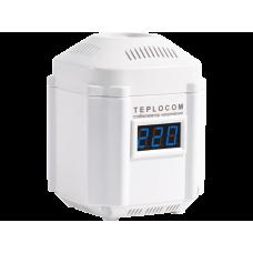 Стабилизатор сетевого напряжения Teplocom ST-222/500-И (220В, 222ВА, Uвх.145-260В) индикация