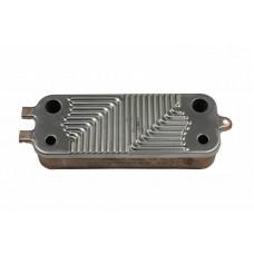 Теплообменник вторичный 16 пластин для котлов Bosch, Buderus 87186446250