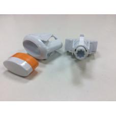 """Кнопка подсветки """"GEFEST"""" ПКН-507.2-113 овал (белая)"""