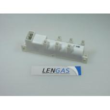 Блок розжига для газовой плиты Гефест 1-5, одноразрядный, 6 канальный